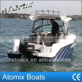 6m Fiberglass Hard Top Motor Boat with outboard engine (600 Hard Top Convertible)