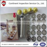 biscuit/cookie making machine for home,small automatic biscuit making machine home use,home appliance inspection,loading check