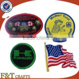 Custom iron on brand / logo patch embroidery for clothes / sleeve                                                                         Quality Choice