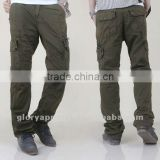 Men's bib overall pants multi-pocket pants military pants 3336