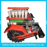 completed farm machine, crawler chassis, furrow opener, drill boot, rotary cultivator, disco harrow, potato harvester
