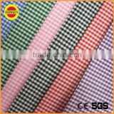 wholesale 100%cotton plaid shirt fabric of yarn dyed