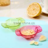 2pcs/set multi-functional Kitchen Tool Press Garlic Crusher Grater Plastic Box Twist Peeler Mincer Press Ginger