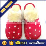wholesale china ladies bedroom slipper with heels, lady eva footwear design slipper
