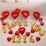 factory supply decorative letter balloon with EN71