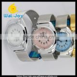 WJ-3548-2 touch type best selling Japanese movement talking wrist watches for blind people