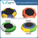 Water inflatable sea trampoline for sale