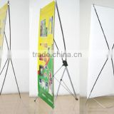 Spring hot products of floor stand banner,X banner stand,indoor advertising X banners