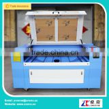 80W ZK-1290 two platforms Laser cutter machine with electronic up and down platform 1200*900mm