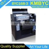 DTG Multifunction Flatbed Printer--Online Selling A3 Size8 Colors Economical Flatbed Cheap T-Shirt Printer Direct To Garment