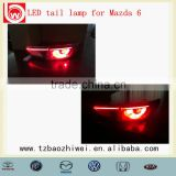 Red color OEM LED tail lamp light for Mazda 6