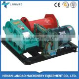 Construction equipment Electric Tower Crane Hoist Winch