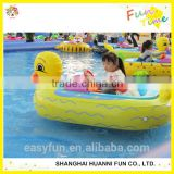 factory inflatable bumper cars in water pool, large inflatable pool for bumper car and boat