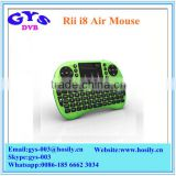 Rii I8 air mouse with Touchpad for PC and TV 2.4ghz wifi mini wireless keyboard air mouse fly mouse