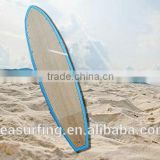 2014 hot sold classic full wood coated double side surfboard surfing boards