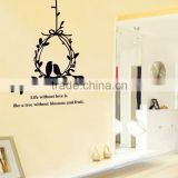 Olive Branch and Birds Wall Decals Stickers Love Quotes Furniture Living Room Decor Mural Art Sticker JM8035