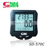 2016 classical Sunding bicycle odometer high quality multi-functional wireless speedometer