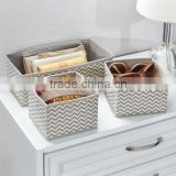 Closet Organizer Underwear Bra Storage Cube Drawer Divider Fabric Order Box