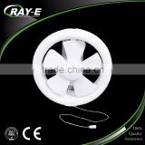 plastic wall mounted bathroom kitchen electric ventilator low noise ventilation exhaust fan