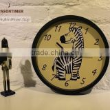 Online Shopping Kids Wall Clock for Home Decoration