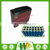 customzied lithium battery pack 12v 10ah for electric bike in waterproof box
