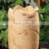 Chinese creative crafts bamboo pen case/brush pot