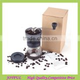 Washable hand coffee grinder Burr Coffee Grinder Manual coffee grinder