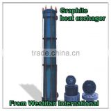 YKA type tube graphite heat exchanger