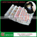 China manufacture t-shirt heat transfer sticker