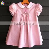 Pink Bunny Smocked Dresses Hand Smock Easter Bishop Dresses Adorable Children Frocks Designs