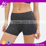 2017 Guangzhou Shandao OEM Customized Wholesale Manufacture Best-selling 95% Cotton 5% Spandex Tight Women Yoga Shorts