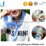New Summer Coolers Mix colour Neck Cool Scarf Cooling Headband Bandana Ice Pack Scarf