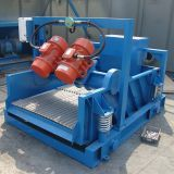 Slurry vibrating screen, dewatering vibrating screen for slurry