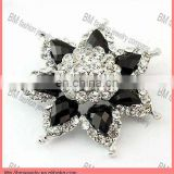 Charming crystal diamond brooch cheap flower shaped brooches pin