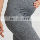 custom womens elastic maternity pants cotton yoga pregnant leggings