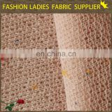 polyester interlock fabrics low price foil printing fabric made in china knitted fabric