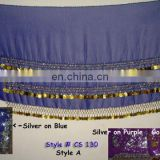 BELLY DANCE COIN HIP SCARF