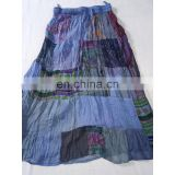 Rajasthani Art Printed Handmade Cotton Printed Long Skirt girls' dress