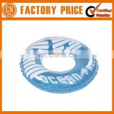 Custom Printed Inflatable PVC Adult Swimming Ring