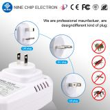 Plug-in Indoor Electromagnetic Ultrasonic Pest Repeller, hot-selling Mice Rats spiders bugs fleas dispeller