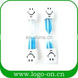 Teeth Cleaning Sand Timer Smiling Face 2-3 Minutes Hourglass