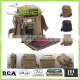 Men's Military Canvas Shoulder Bag Messenger School Bag