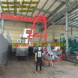 Comminution Function Genset Power Cutter Suction Dredger Small Pond Dredging 50kw