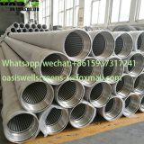 China manufacturer of Stainless Steel Wire Wrapped Johnson Screens