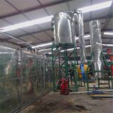 JNC black engine oil distillation diesel equipment/used oil to diesel oil recycling machine
