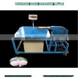 Successed technical reliable quality pillow stuff machine with weighting table filling