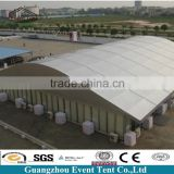 New style arch large aluminum alloy yurt tent for museum