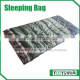 Flannel Military Sleeping bag for Winter