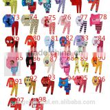 long sleeve kids Christmas minion pajamas 2-7 year list PL-21
