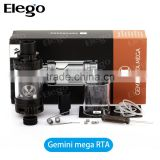 Genuine Vaporesso RTA Gemini Tank with 3.5ml Elego Stock Wholesale